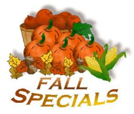 Our Fall Piano Specials