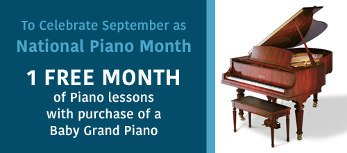 National Piano Month
