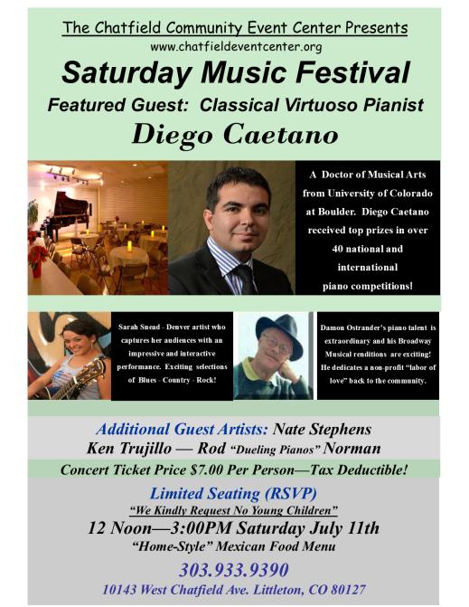 Saturday Music Festival