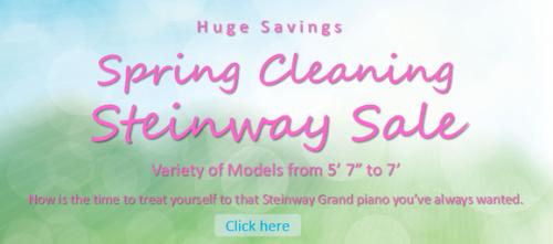 Steinway Sale 1