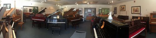 Visit our beautiful pianos