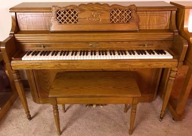 1516603-Wurlitzer 42 Walnut