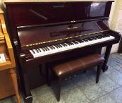 "Schafer & Sons 48"" Plum Professional Upright"